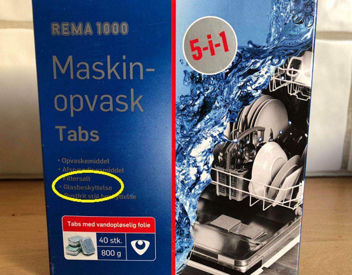 Brug glasbeskyttende middel i maskinen. Foto: Jørgen Rosengren/Newsbreak.dk.
