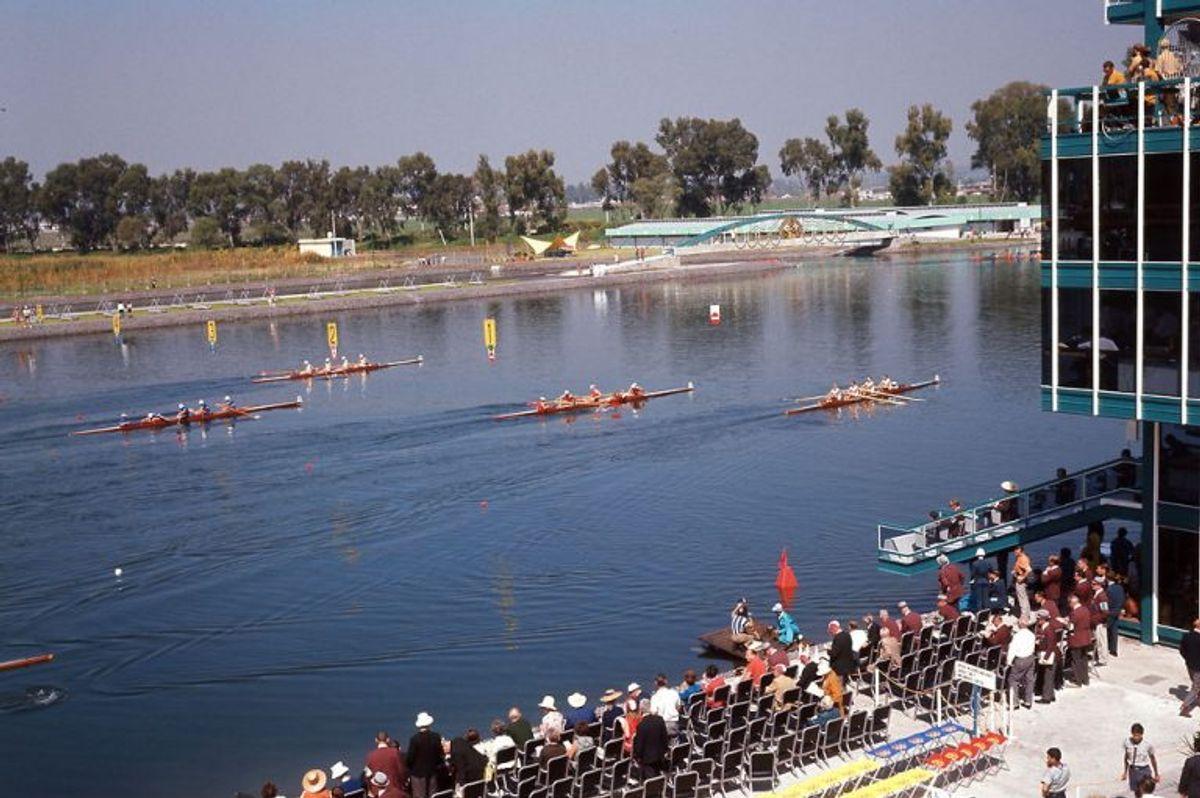 Olympiske Lege 1968 i Mexico. Roning //
