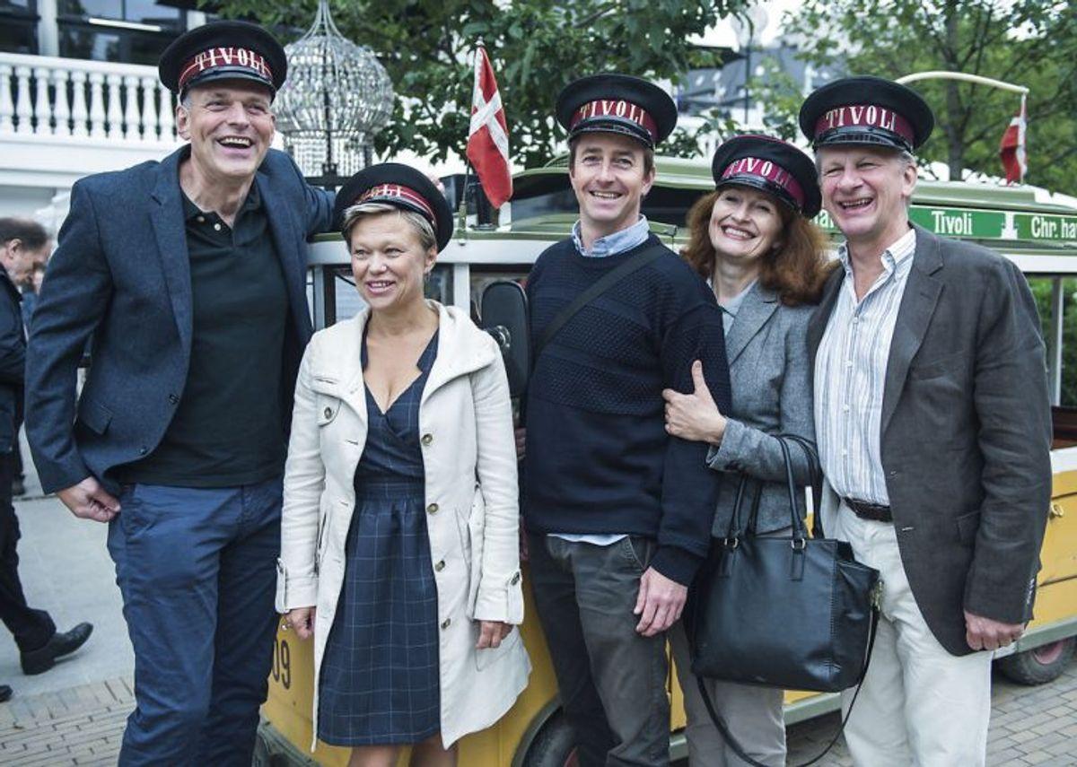 Henrik Koefoed (t.h.) har fødselsdag og fylder lørdag 62 år. Foto: Sara Gangsted/Scanpix (Arkivfoto)