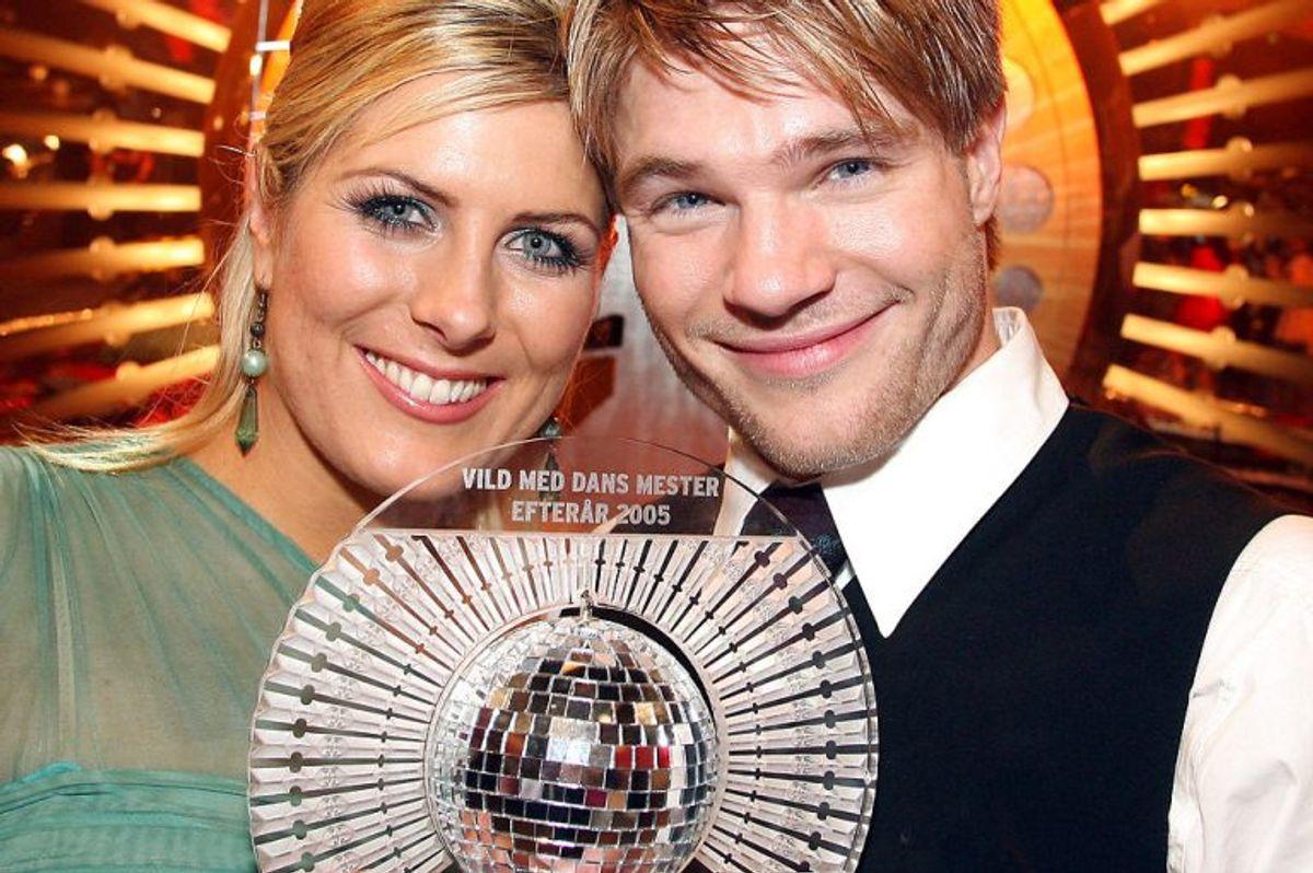 """David Owe vandt """"Vild med dans"""" i efteråret 2005 sammen med Vickie Jo Ringgaard. Foto: Mogens Flindt/Scanpix (Arkivfoto)"""