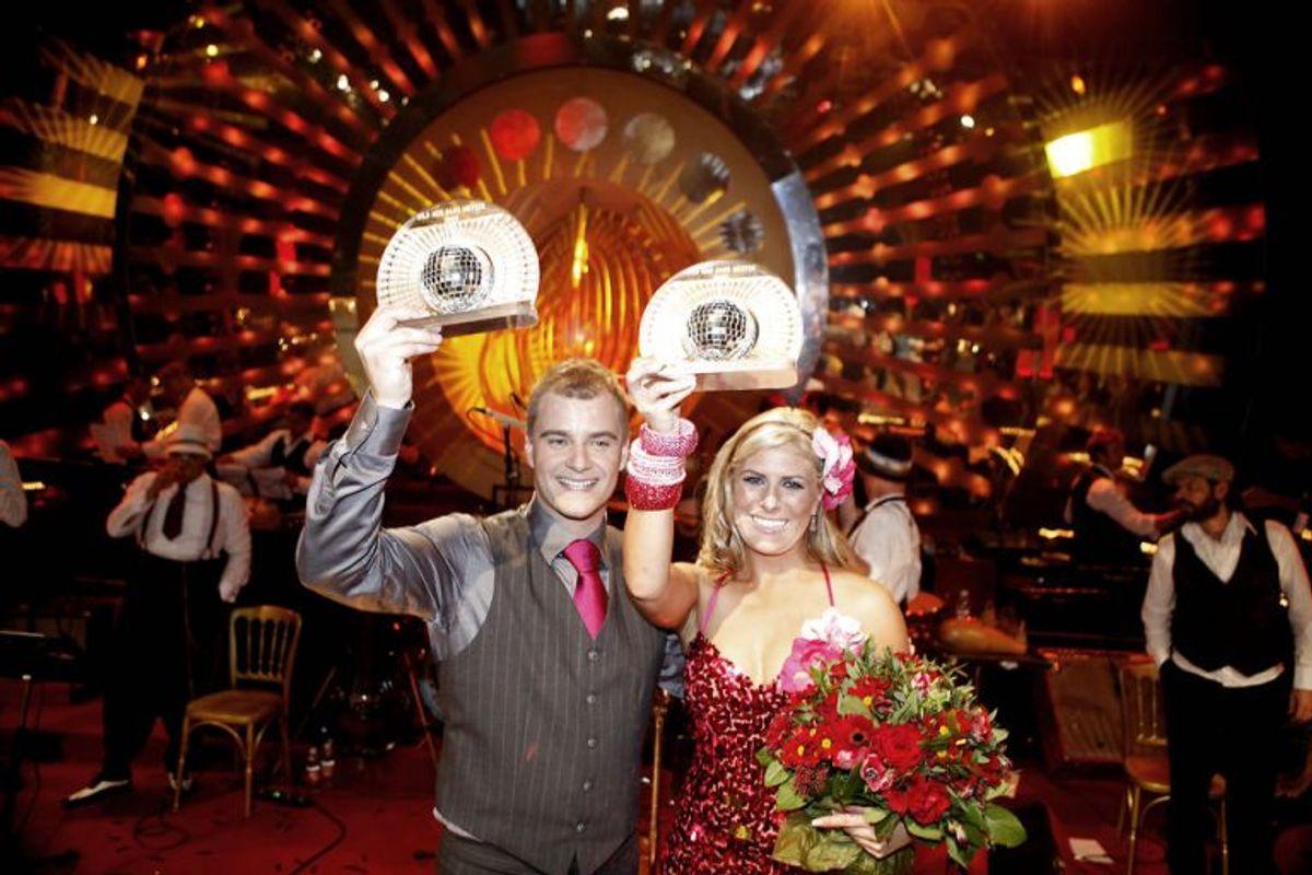 Casper Elgaard drønede sig til sejren i 2009 med Vickie Jo Ringgaard. Foto: Jeppe Michael Jensen/Scanpix (Arkivfoto)