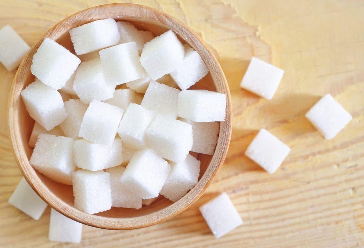 400 gram sukker.