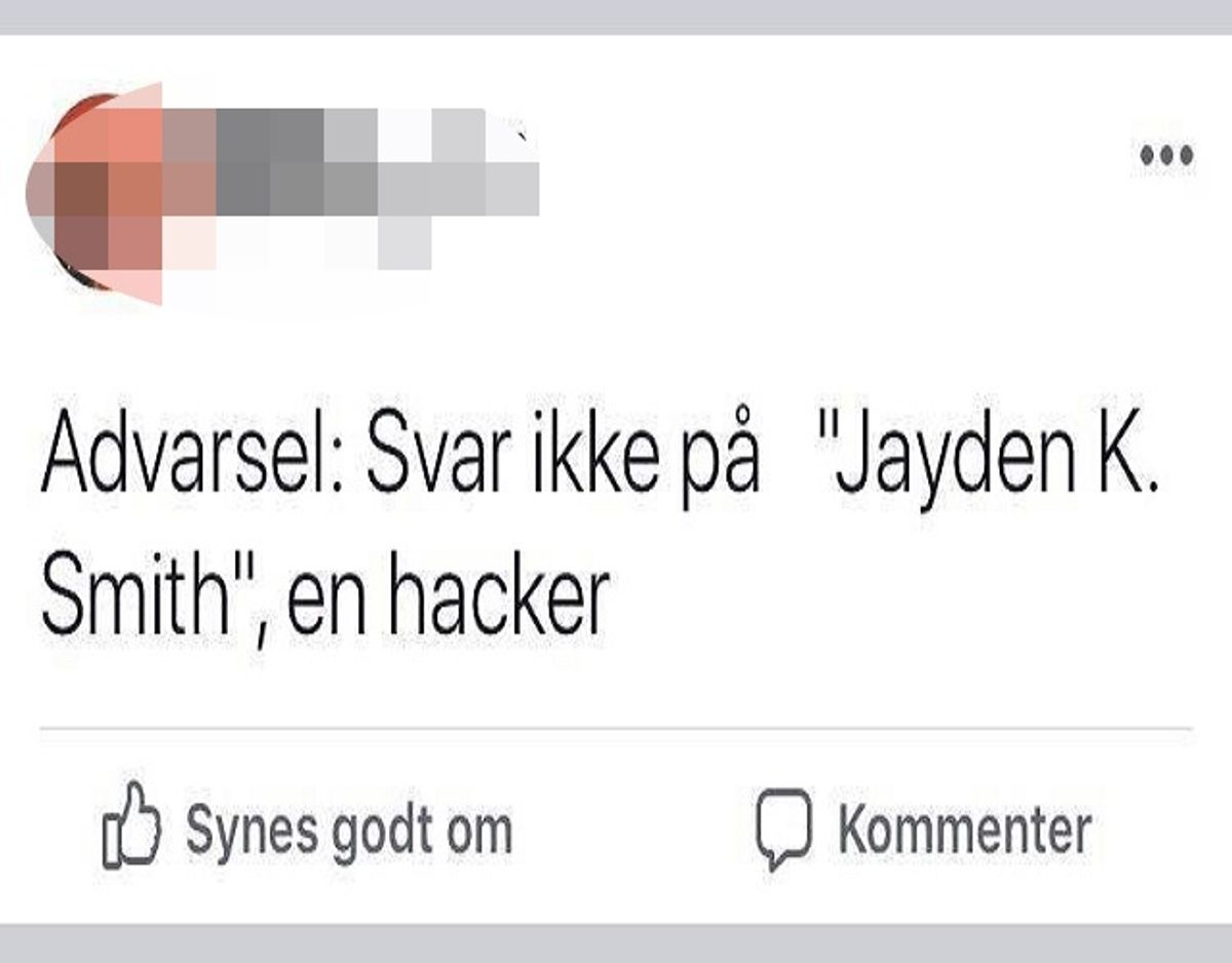 Foto: Screenshot/Facebook.