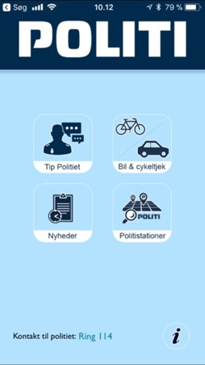 Skal du købe en brugt cykel, så tjek stelnummeret på Politiets App, så du sikrer dig, at cyklen ikke er stjålet. Foto: Screenshot.
