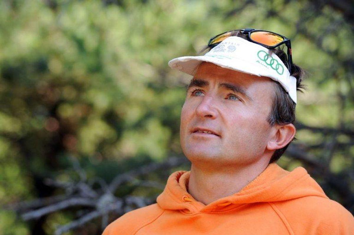Den berømte bjergbestiger Ueli Steck er blevet fundet død på Mount Everest søndag den 30. april 2017. Han var en pioner inden for bjergbestigning, og han satte flere rekorder.Foto: JEAN-PIERRE CLATOT/Scanpix