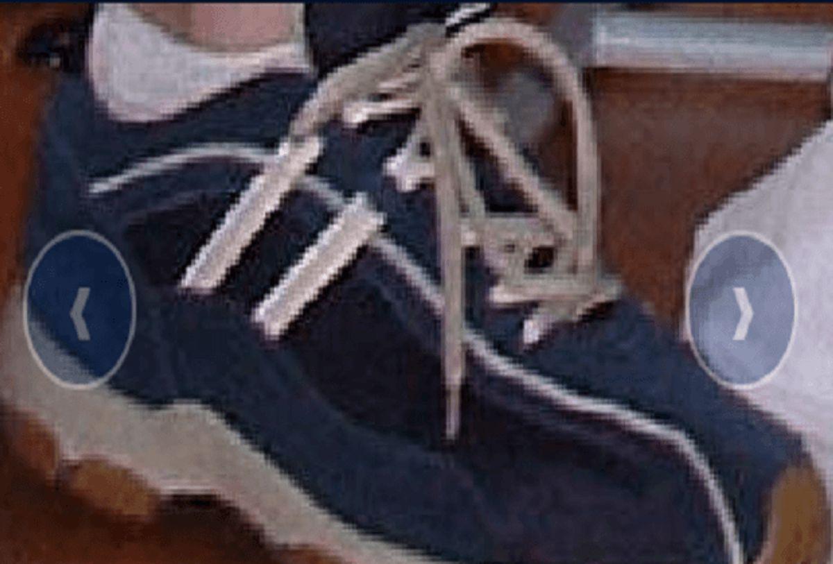 Kender du mærket på disse sko? Foto: Europol.