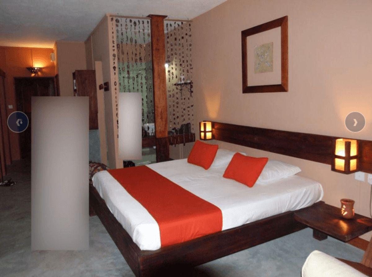 Hvor er dette billede fra? Det er et hotelværelse. Foto: Europol.