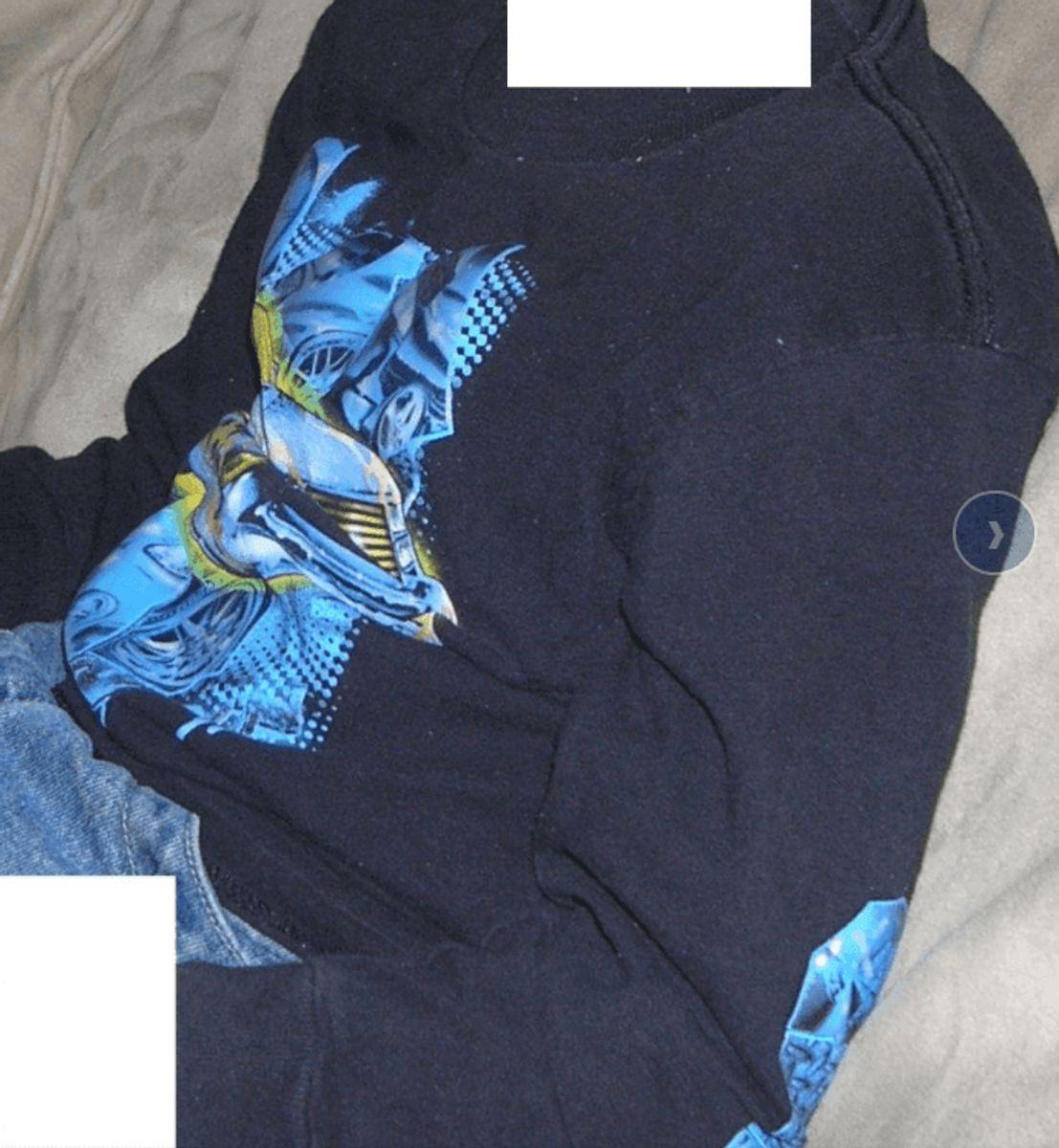 Kan du genkende denne sweatshirt. Foto: Europol.