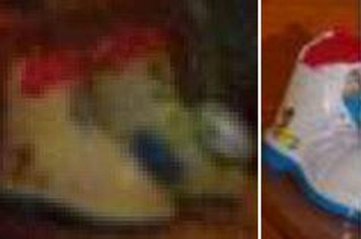 Dette er angiveligt fra et stykke legetøj. Ved du, hvor det kan købes? KLIK for flere billeder. Foto: Europol.