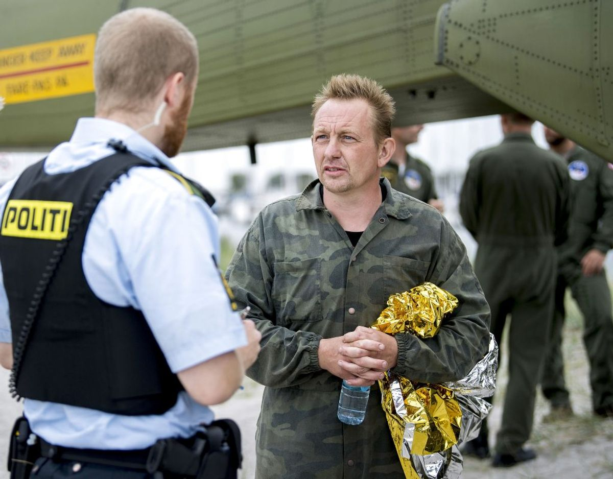 Hvorfor løj Peter Madsen for politiet, da han til at starte med påstod, at han havde sat Kim Wall af på Refshaleøen? Politets seneste udmeldinger slår fast, at ubåden ikke vendte tilbage til land, inden den blev sænket. Foto: Bax Lindhardt/Scanpix. KLIK VIDERE OG SE FLERE MYSTISKE UBESVAREDE SPØRGSMÅL FRA SAGEN.
