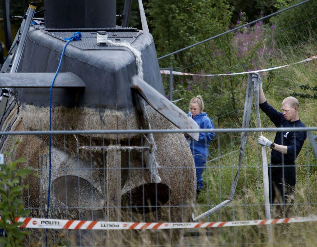 Hvorfor sænkede Peter Madsen UC3 Nautilus? Foto: Liselotte Sabroe/Scanpix 2017)