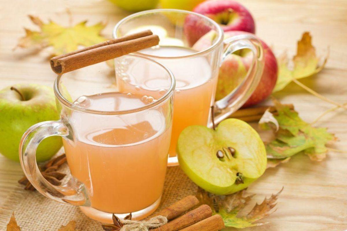 Lav hjemmelavet most af eksempelvis æbler.