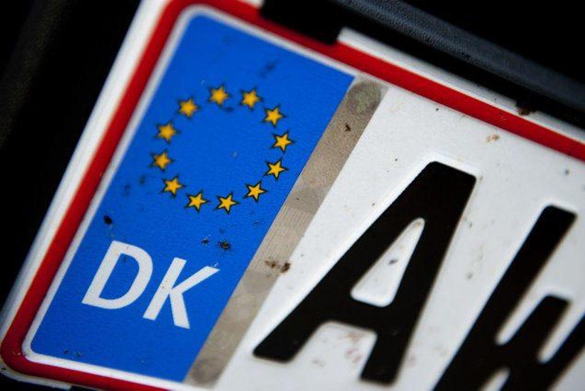Ifølge DF's retsordfører bør justitsministeren mangedoble begrænsningen for, hvor længe politiet kan lagre de oplysninger, som stationære nummerpladeskannere registrerer. Foto: Claus Fisker /arkiv/Scanpix