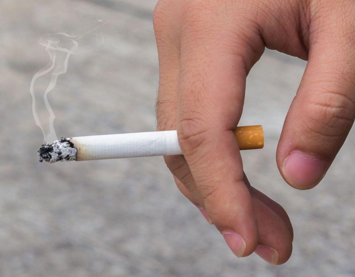 Du må have 800 cigaretter, 300 cigaretter hvis du kommer fra Bulgarien, Kroatien, Litauen og Ungarn, 400 Cigarillos (maks 3g/stk), 200 Cigarer og 1kg tobak med til Danmark, hvis du kommer til Danmark fra et andet EU-land. Foto: Scanpix.