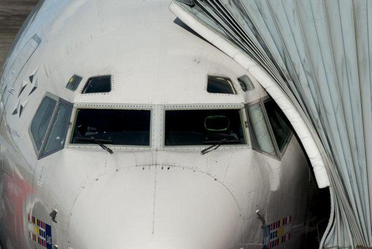 Et SAS-fly måtte tirsdag morgen vende tilbage til den polske by Gdansk, efter at der var konstateret røg i kabinen. Foto: Colourbox/arkiv/Free