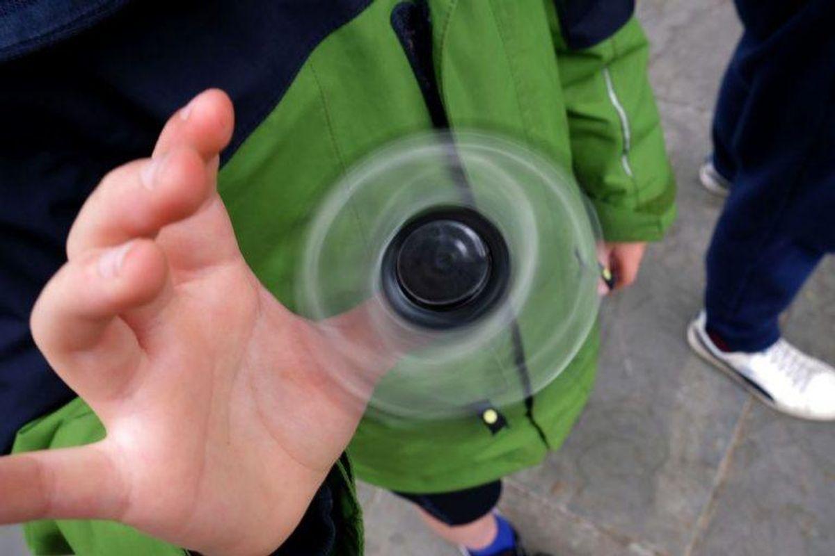 Britiske myndigheder har trukket flere fidget spinnere tilbage. KLik videre og se billeder af nogle af de tilbagetrukne varer.  Arkivfoto: JEWEL SAMAD/Scanpix