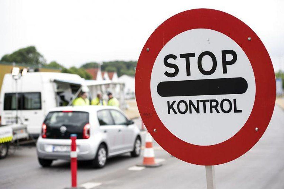 Fra 9. juni er der indført grænsekontrol ved indrejse til Tyskland.  (Foto: Claus Fisker/Scanpix 2017)