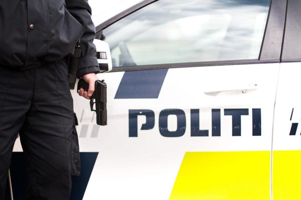 Politiet afholder onsdag øvelse på Skivevej 112. Foto: Colourbox.