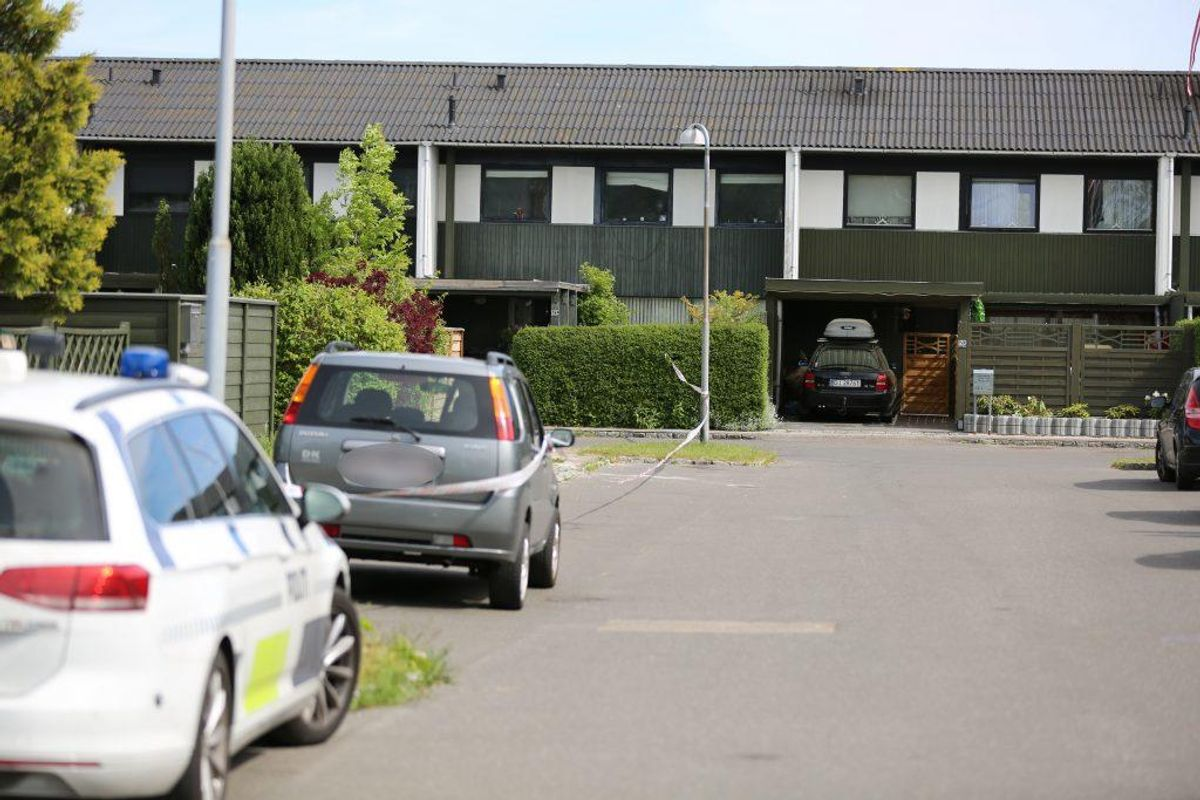 En 23-årig mand blev torsdag eftermiddag stukket i låret med en kniv i Ishøj. Foto: Steven Knap, droto.dk
