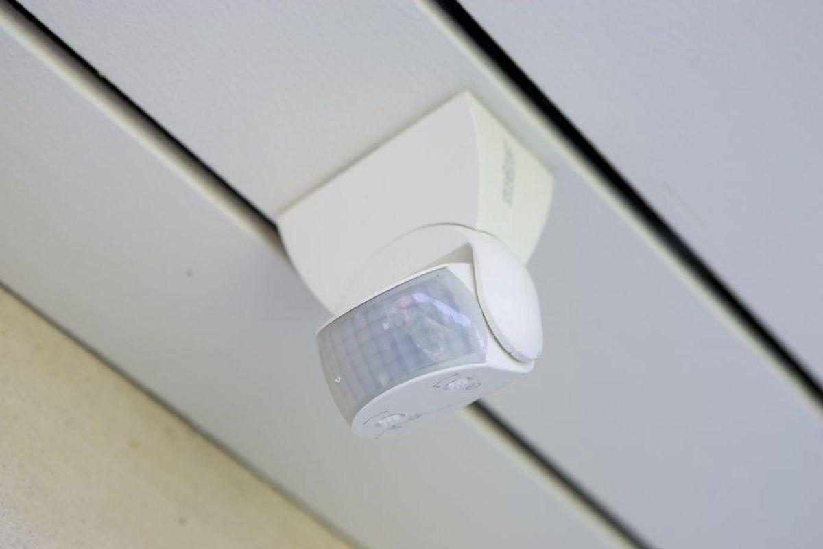 Udendørslys – gerne med sensorer. Foto: Colourbox.