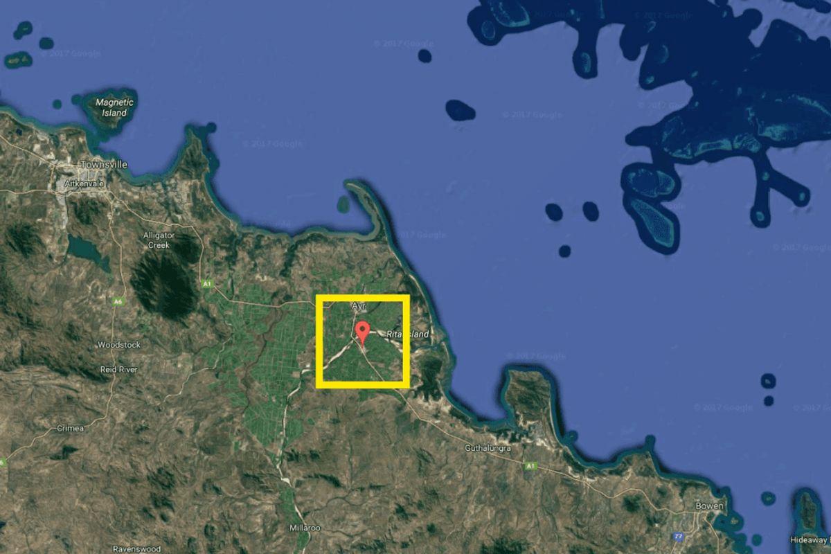 Ulykken er sket syd for byen Home Hills i delstaten Quensland i Australien. Foto: Google Maps