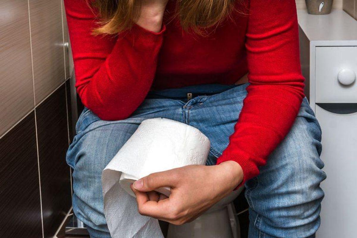 Gider du heller ikke sidde på tønden i dagevis? Så skal du undgå at spise dette. Modelfoto: Scanpix