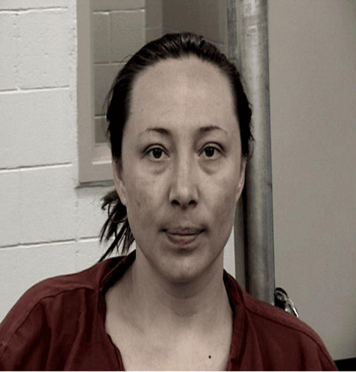 Fabian Gonzales kusine Jessica Kelley var med til at torture og myrde den lille pige. Foto: Bernalillo County Metropolitan Detention Center