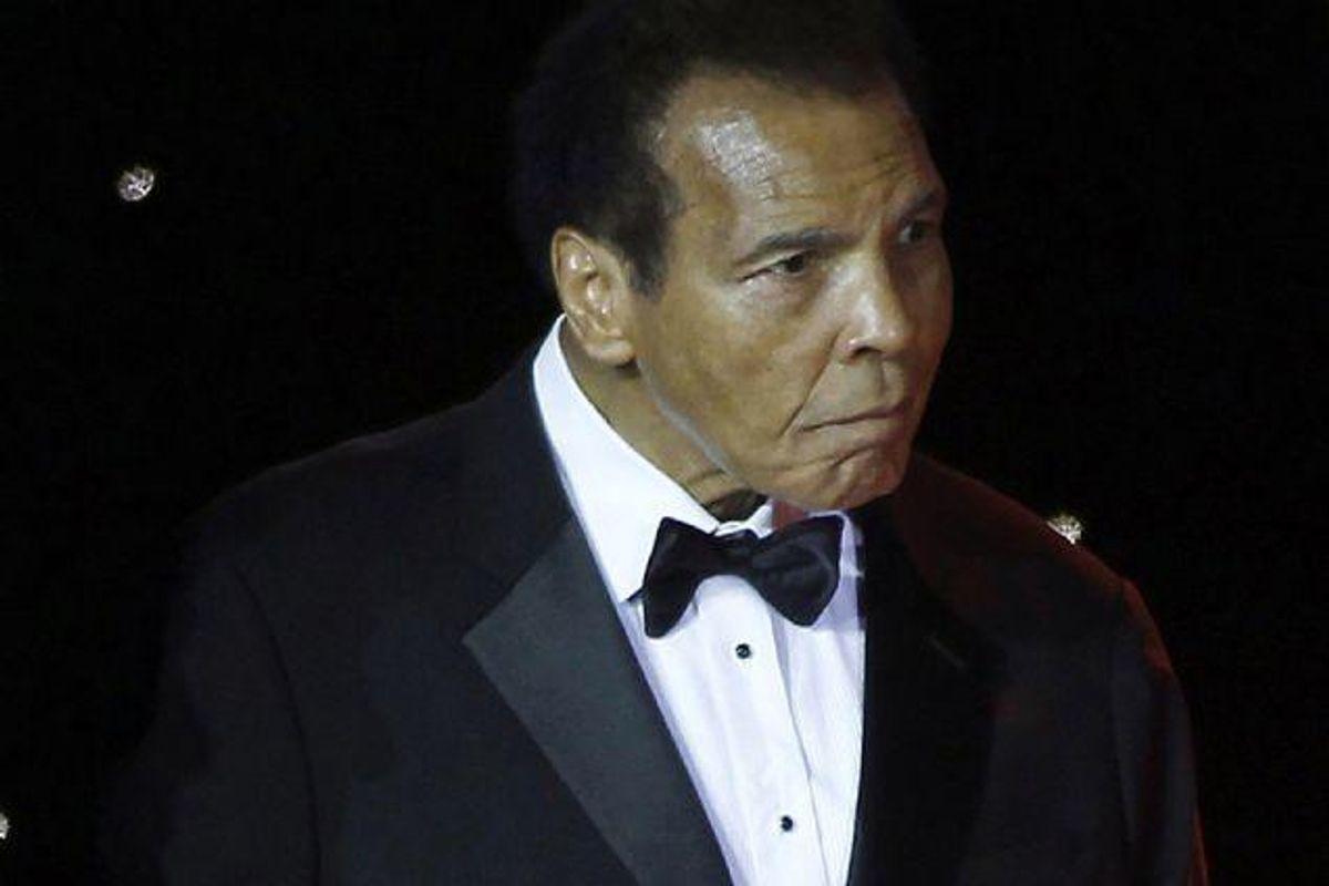 Den tidligere storbokser Muhammad Ali er indlagt på et hospital for vejrtrækningsproblemer. (Arkivfoto). Foto: Stringer/Reuters
