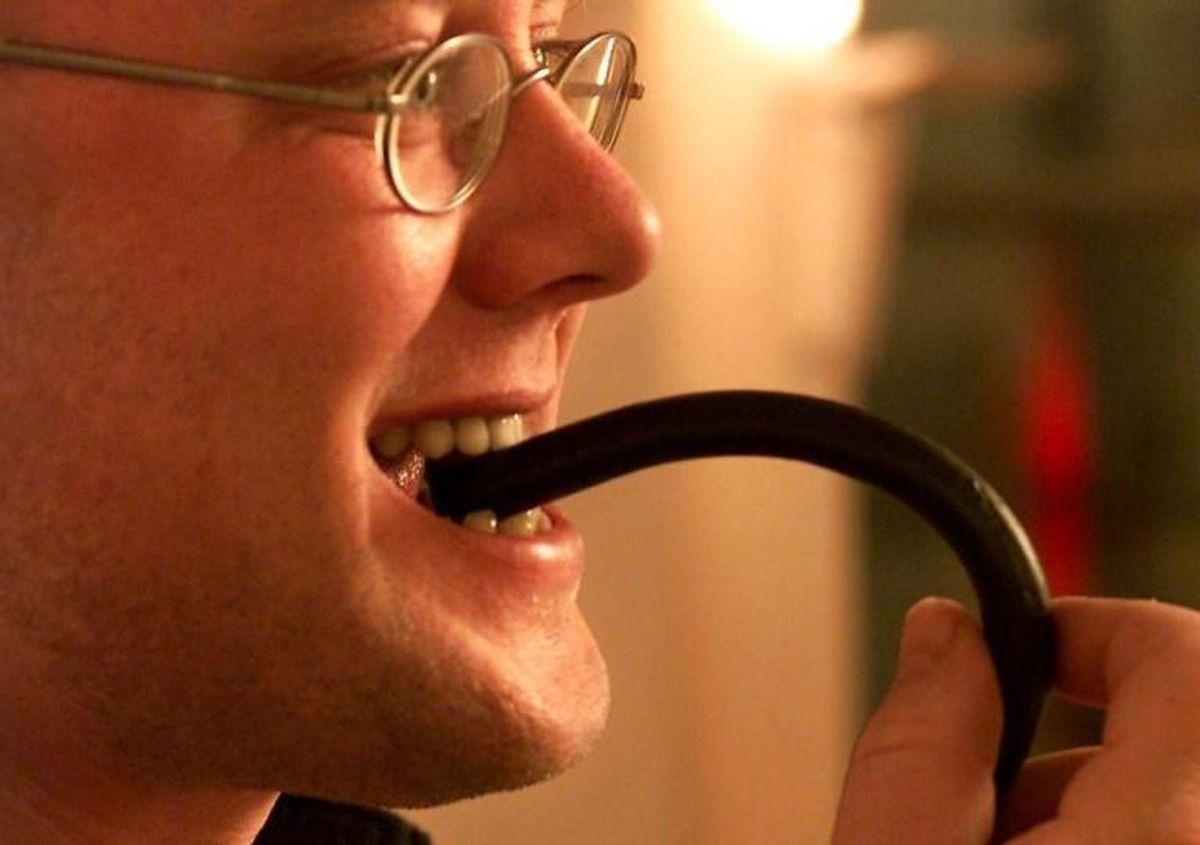 Der er fundet et lille stykke glas eller plastik i en chocofant. Derfor trækkes et parti af slikket tilbage. Foto: MOGENS FLINDT/Scanpix (Arkivfoto)