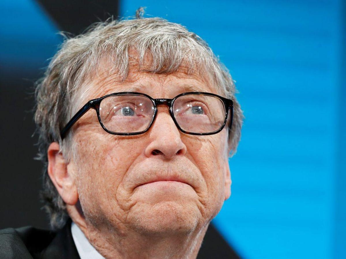 Bill Gates annoncerede skilsmissen på Twitter. Foto: Arnd Wiegmann/Scanpix,