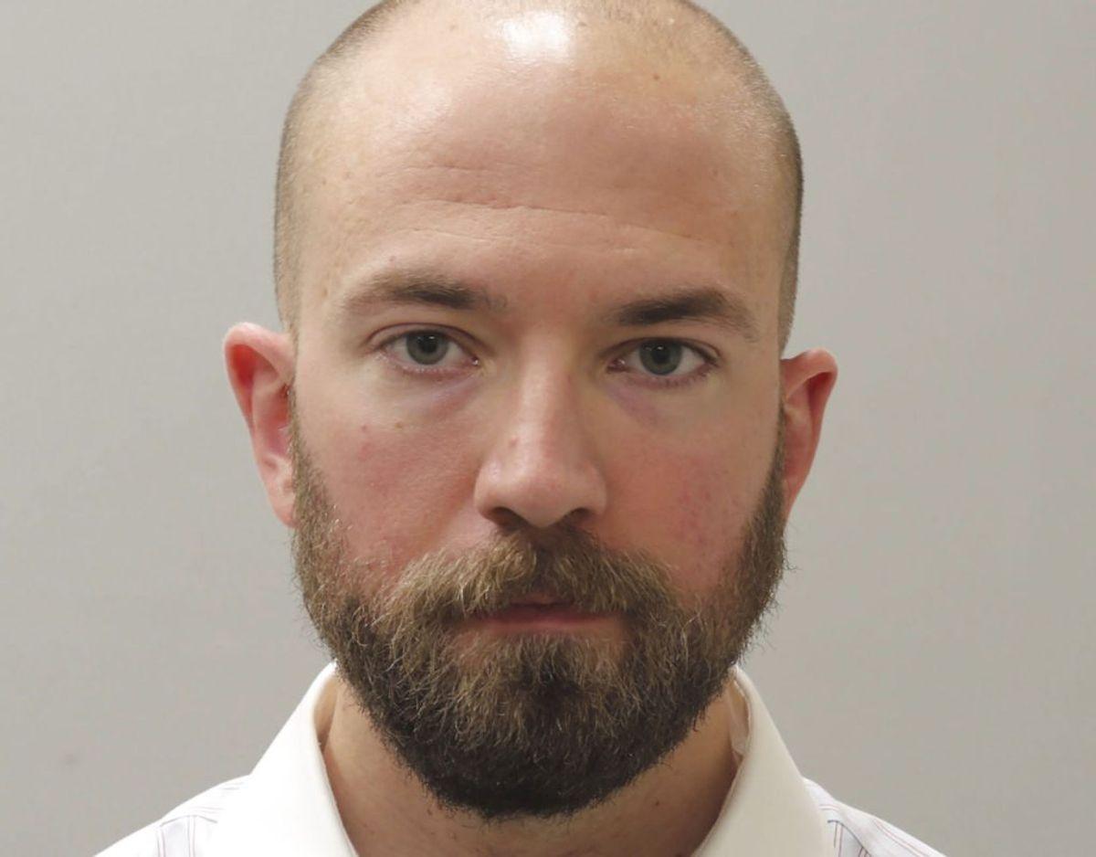 Betjent William Darby er nu sendt 20 år bag tremmer. Foto: Madison County Sheriffs Office/New York Times/Ritzau/ Scanpix