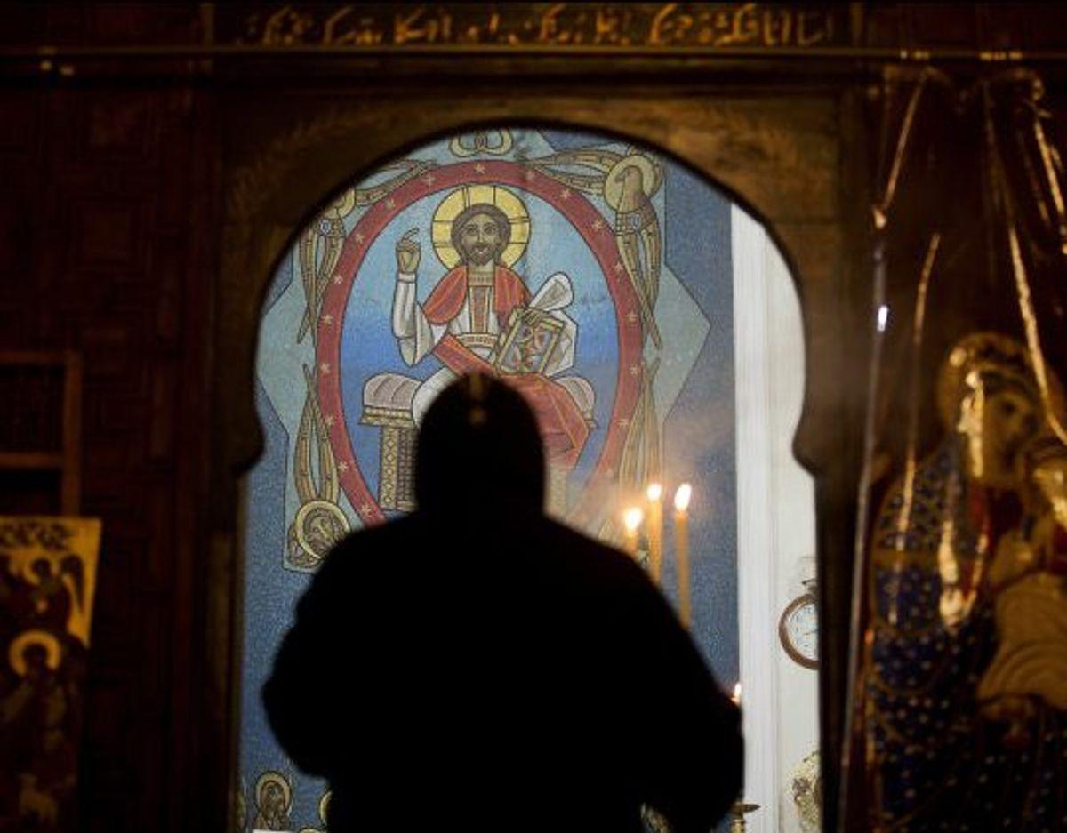 Egypten har henrettet en munk, der var dømt til døden for drab på abbeden i sit kloster. Sagen har sendt chokbølger gennem det koptiske mindretal i Egypten. (Arkivfoto) Foto: Amr Nabil/Scanpix