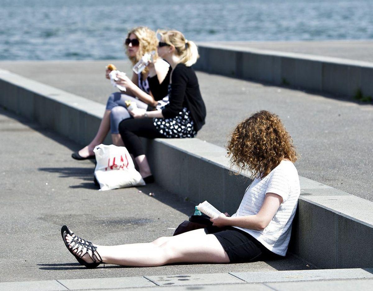 Her kan du i dag tage ud i det gode vejr. Foto: Henning Bagger/BAG/Ritzau Scanpix