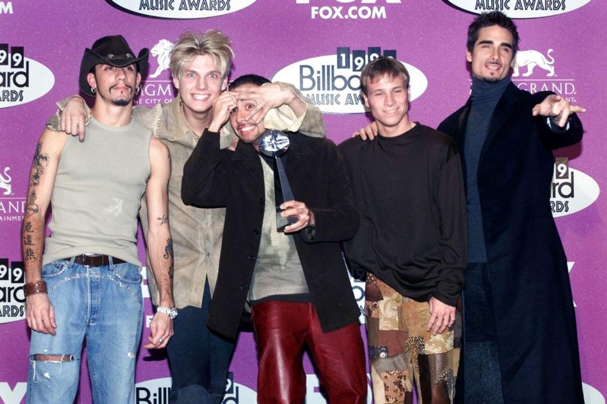 Backstreet Boys, Westlife og *NSync startede en boyband-krig udover det sædvanlige. Foto: Steve Marcus REUTERS/Scanpix