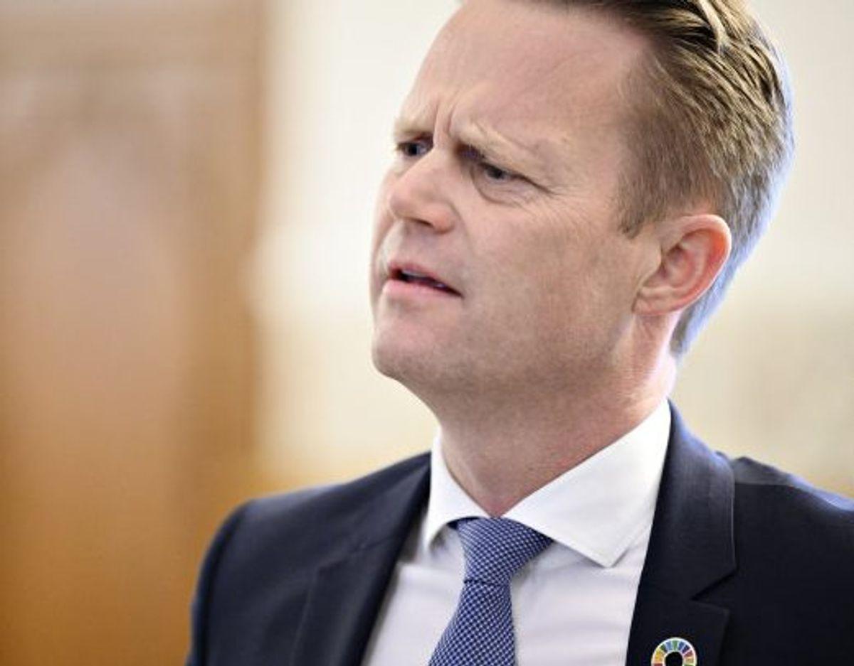 Udenrigsminister Jeppe Kofod (S) vil ikke garantere, at børn med dansk tilknytning evakueres fra syriske fangelejre. (Arkivfoto) Foto: Philip Davali/Scanpix