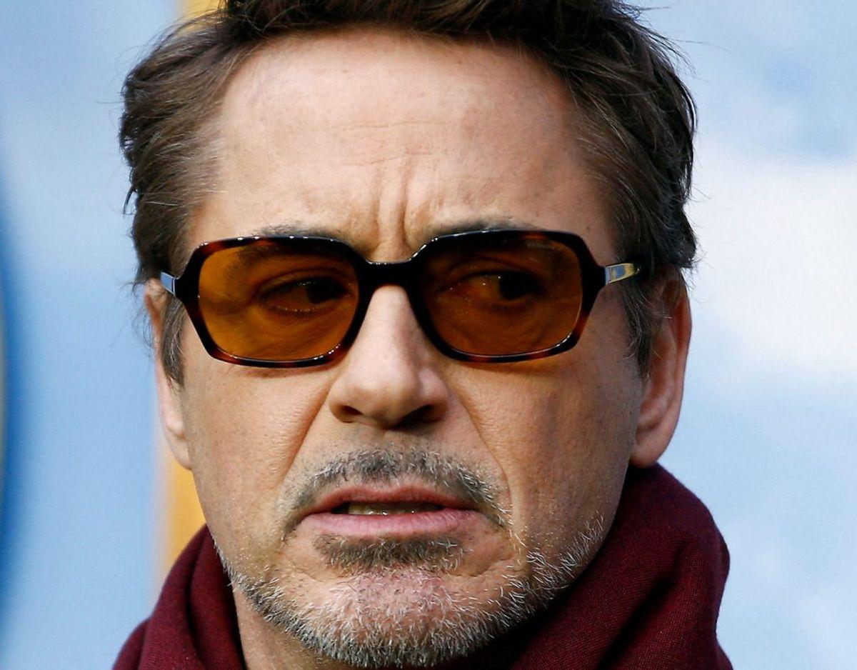 Robert Downey Jr. er i sorg efter at have mistet sin nære ven i en trafikulykke. Foto: Henry Nicholls/Ritzau Scanpix.