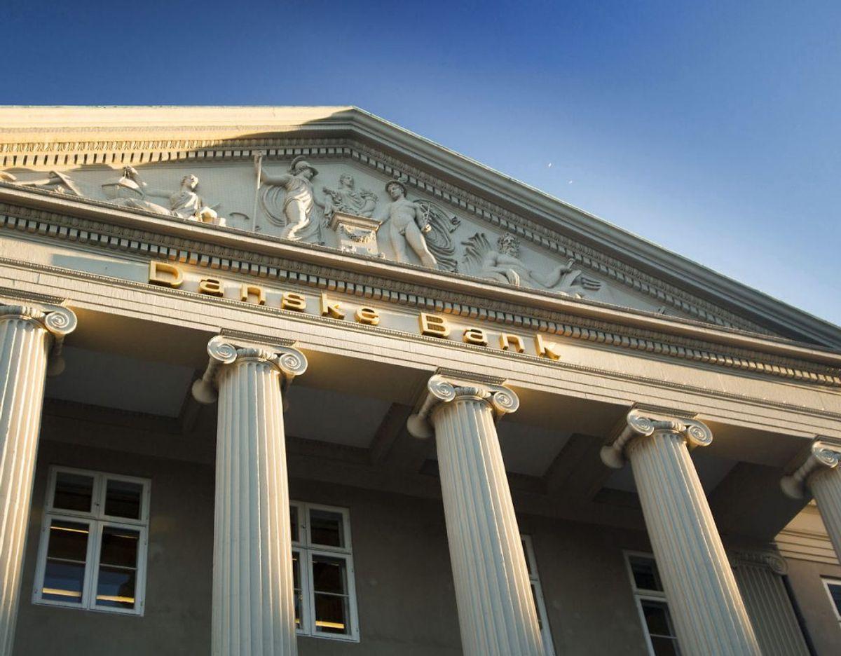 Danske Bank er Danmarks største bank og finansielle koncern. Bankens kernemarked er Danmark, Norge, Sverige og Finland. ritzau/Torben Åndahl.