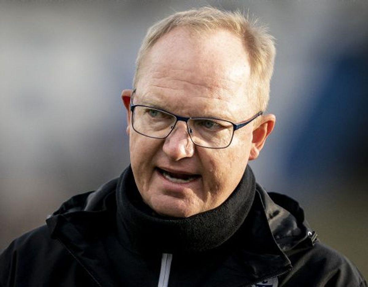 Glen Riddersholm må undvære fem spillere i søndagens kamp mod Vejle i Superligaen. (Arkivfoto) Foto: Mads Claus Rasmussen/Scanpix
