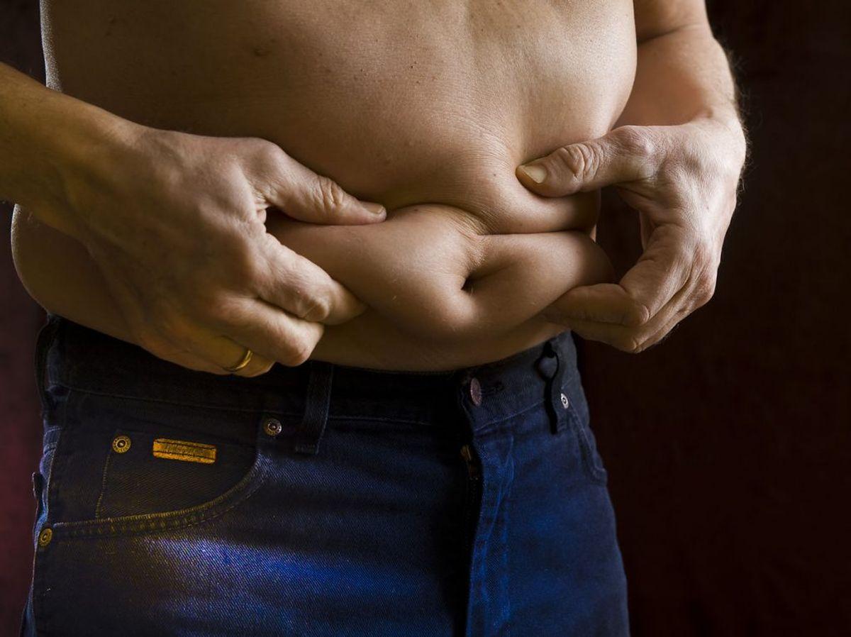 Nu er der måske godt nyt til de, der lever med for mange kilo på sidebenene. Foto: Torben Klint/Ritzau Scanpix