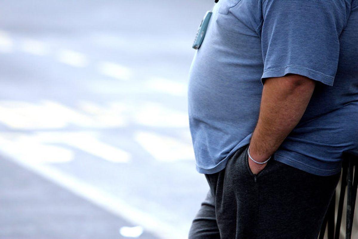 Halvdelen af den danske befolkning lever med overvægt, mens 17 procent lever med svær overvægt, oplysere forskere i nyt opsigtvækkende vægttabsstudie. (Arkivfoto) Foto: Paul Ellis/AFP