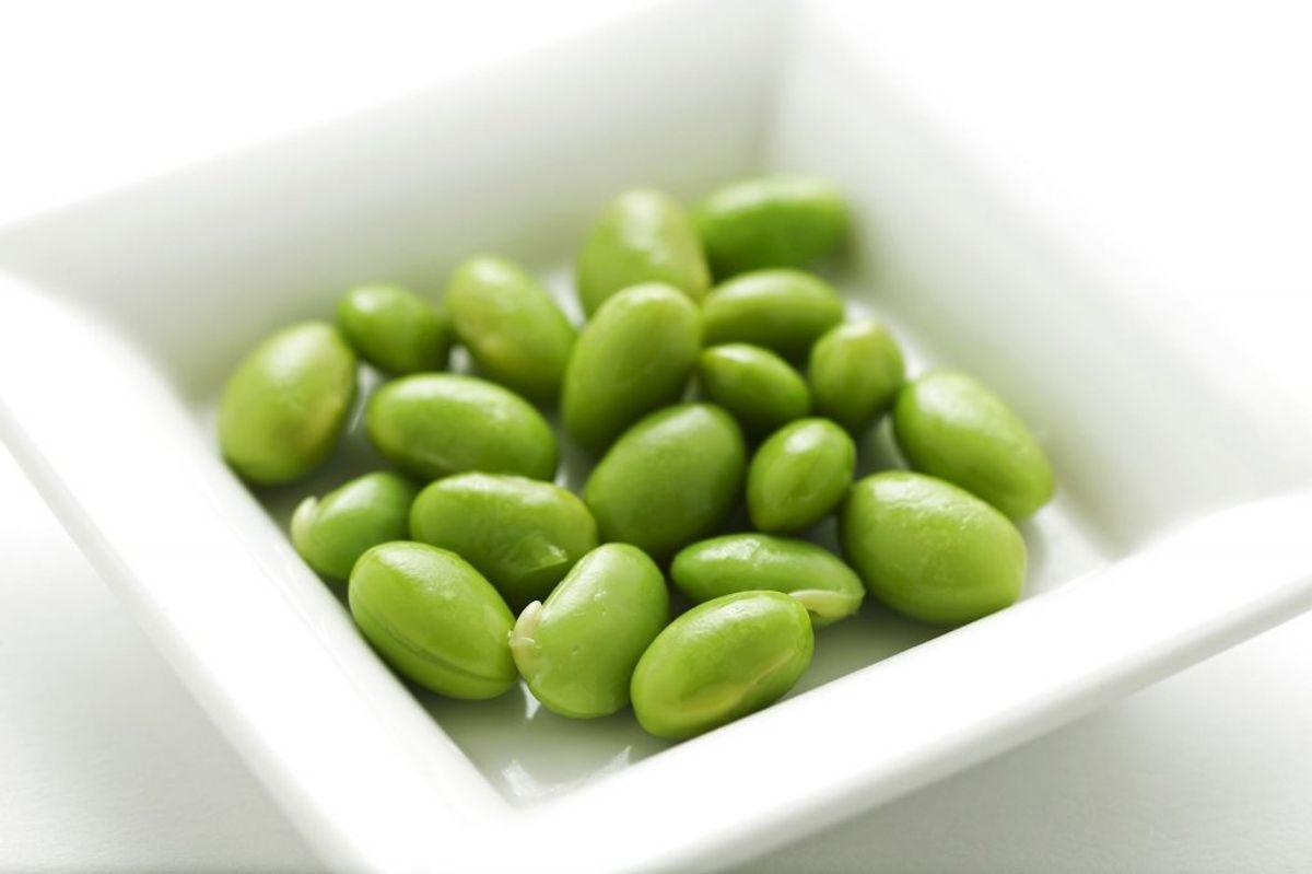 Edamamebønner er rig på antioxidanter og har vist sig at være god til at sænke blodsukkeret. Foto: Scanpix