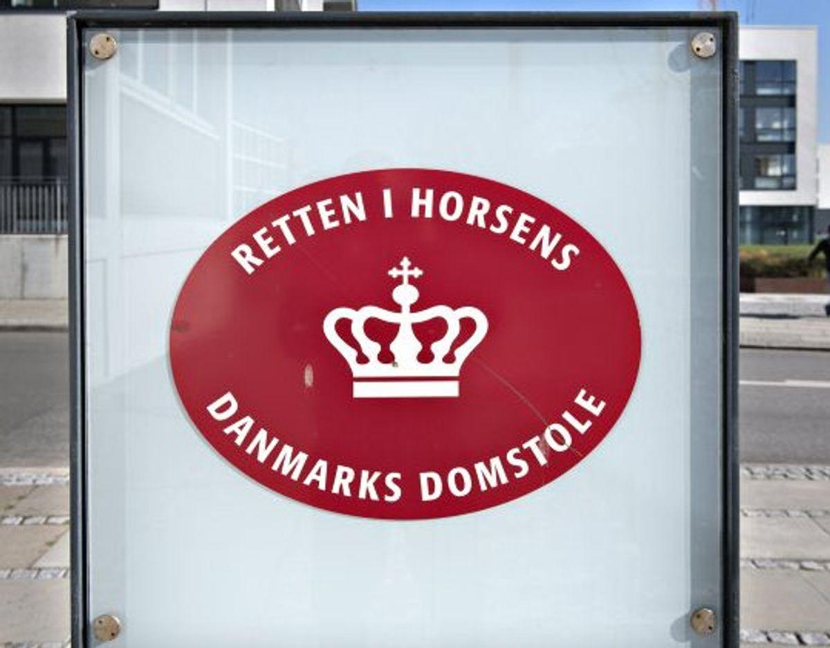 En 20-årig og en 22-årig mand er onsdag kendt skyldige i dødsvold i Horsens i 2019. 28. maj er der strafudmåling (Arkivfoto). Foto: Jens Nørgaard Larsen/Scanpix