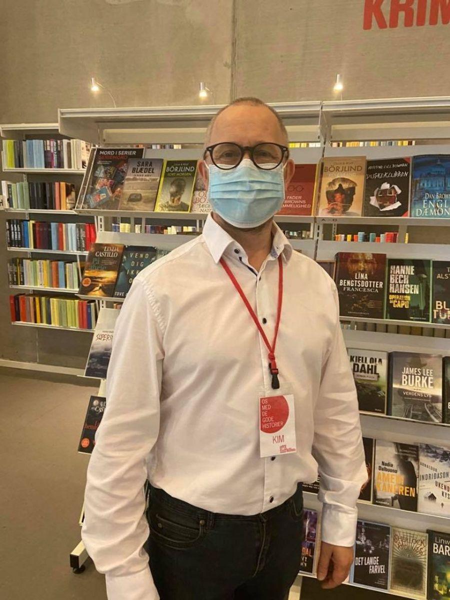 Det er træls, at Magion Biblioteket afhænger så meget af bødeindtægter, mener teamleder og bibliotekar Kim Nissen. Foto: Maiken Krongaard