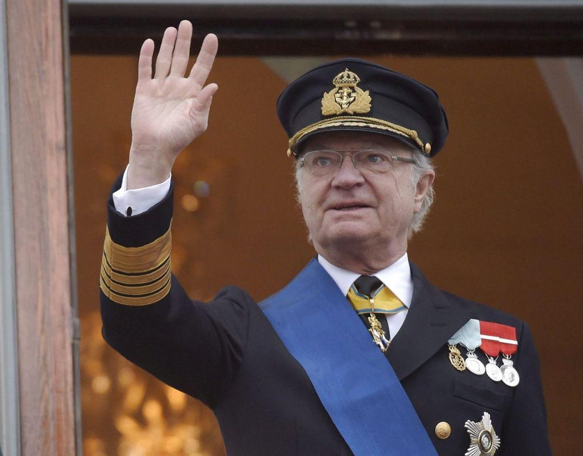 Kong Carl Gustaf kan i dag den 30. april fejre 75 års fødselsdag. Foto: Scanpix/REUTERS/Vesa Moilanen/Lehtikuva