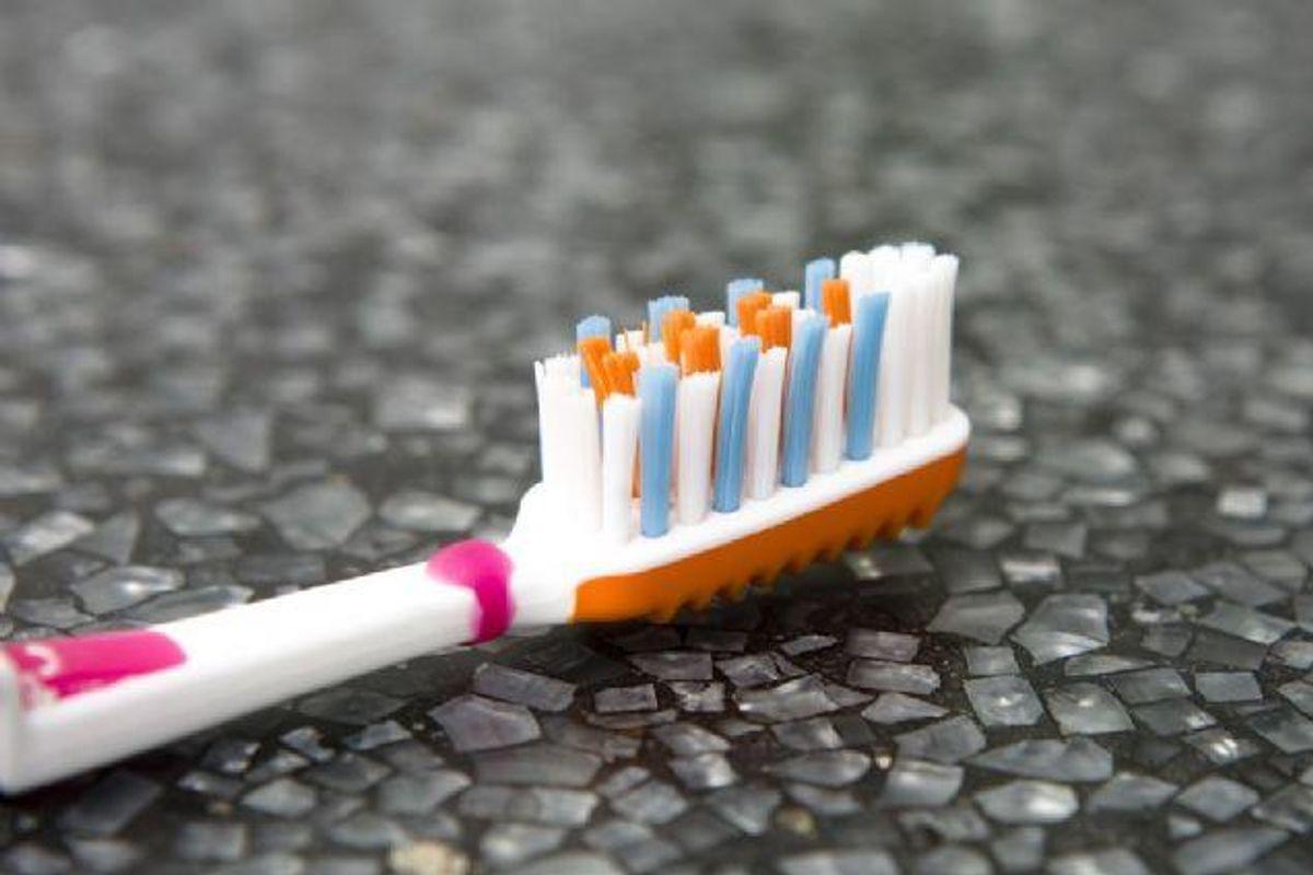 Hvornår har du sidst skiftet tandbørste? Foto: Colourbox/free