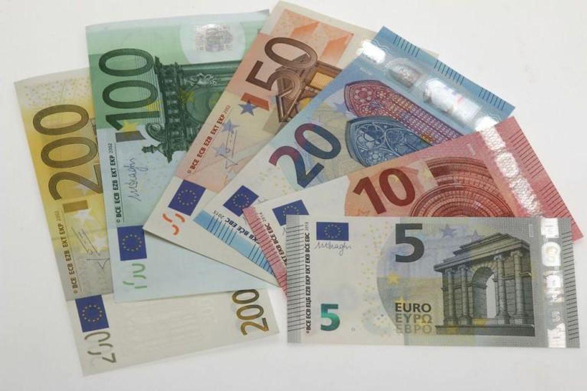 En russisk mand blev i Føtex fundet i besiddelse af 82 falske 200 euro-sedler. Foto: Scanpix (Arkivfoto)