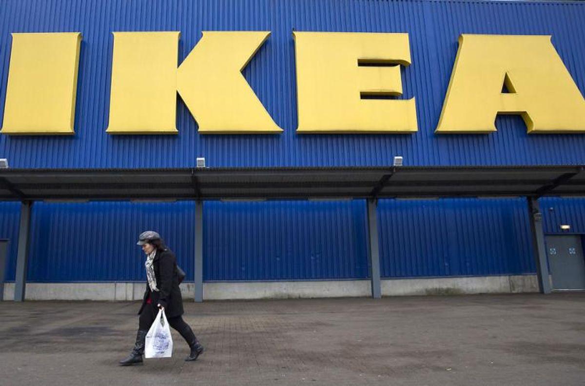 Lamperne er solgt i IKEA siden oktober sidste år. Klik videre og se lamperne, som trækkes tilbage. Foto: NEIL HALL/Scanpix (Arkivfoto)