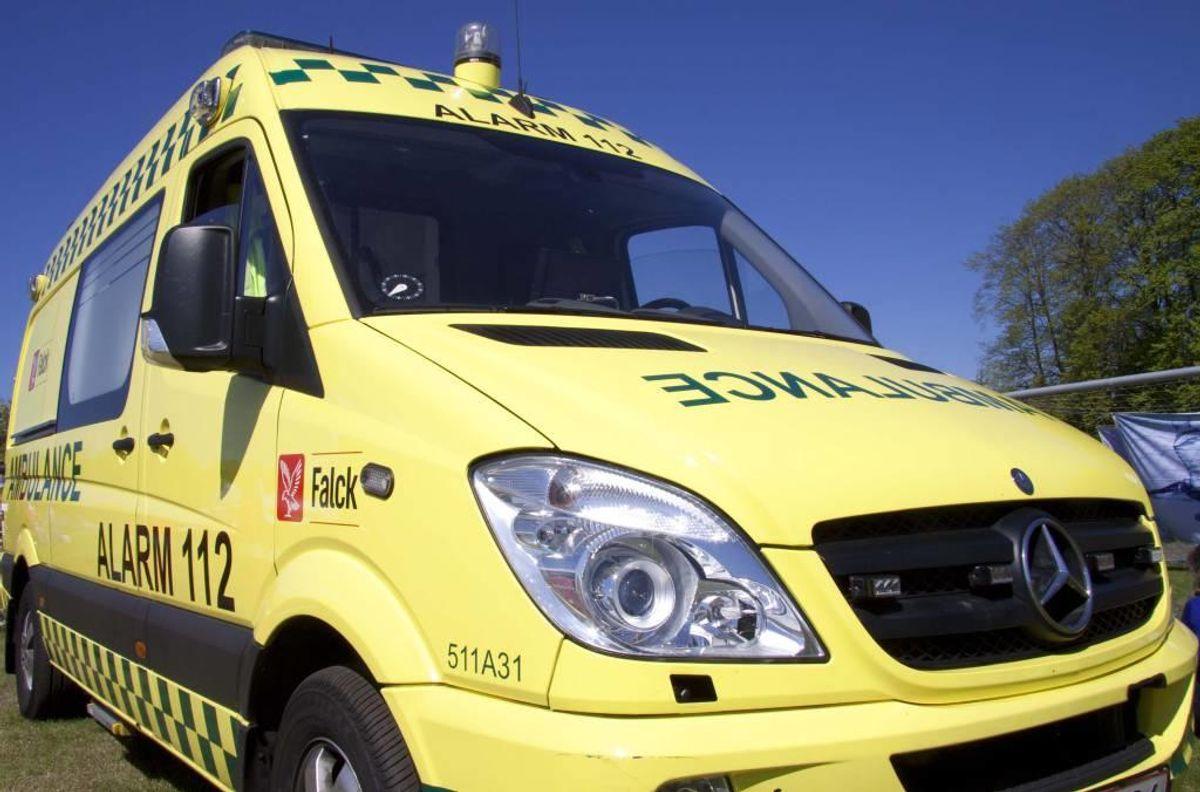 En 23-årig mand blev dræbt i en trafikulykke nær Skive. Foto: Colourbox.com (Modelfoto)
