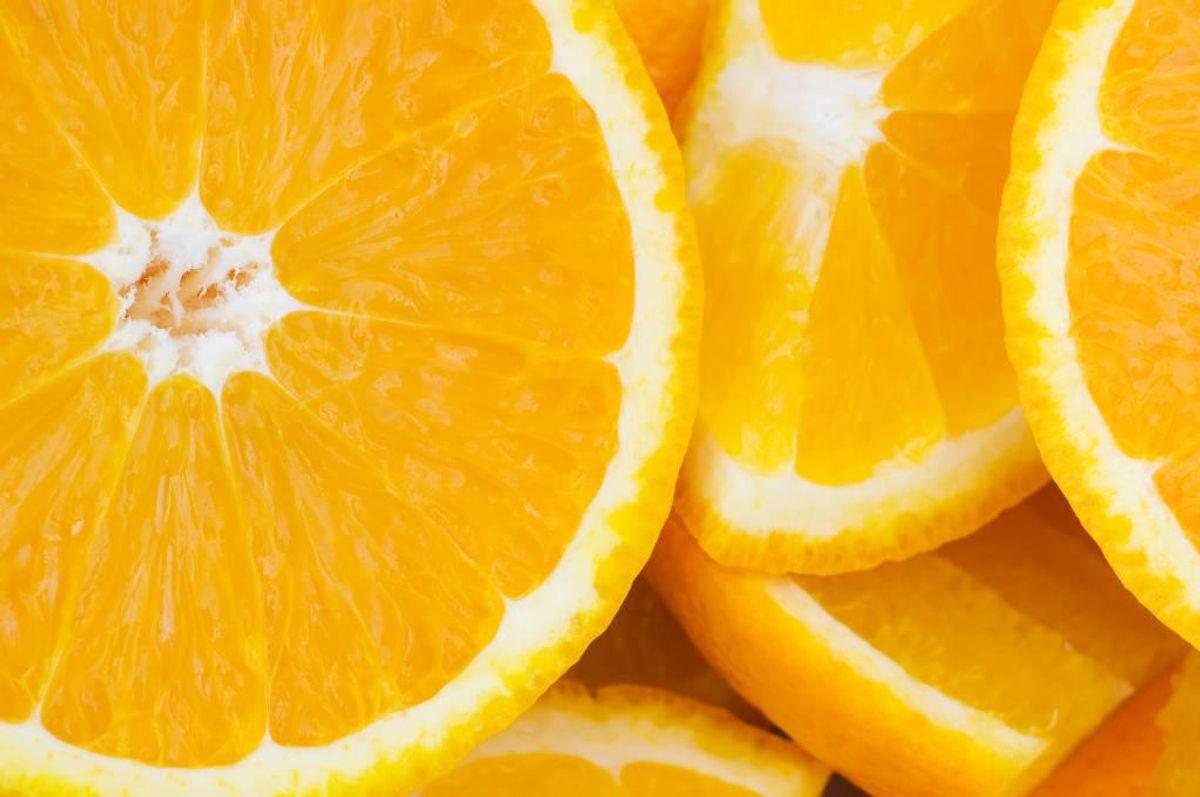 Disse appelsiner skal du ikke spise – har du købt dem, så lever dem tilbage – eller smid dem ud. Arkivfoto: Colourbox.