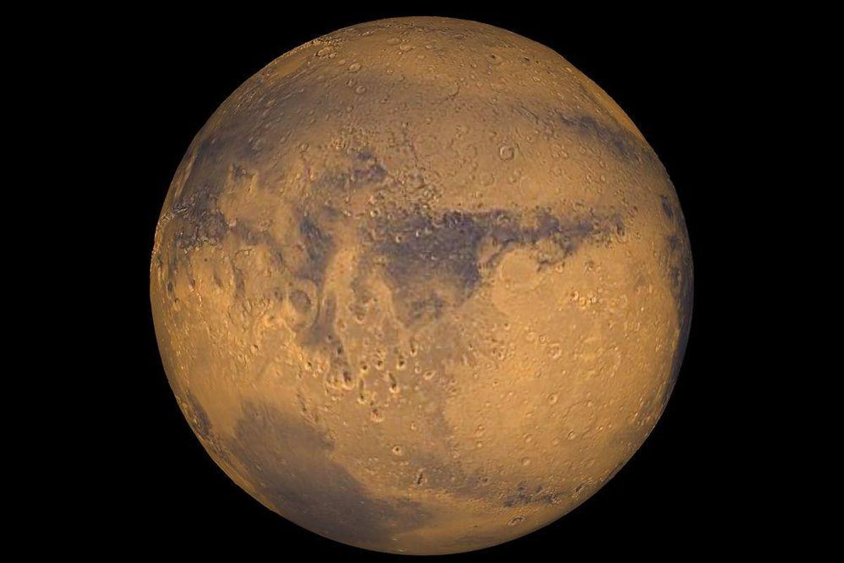 Mars har en gang været særdeles gæstfri. Det viser nye undersøgelser fra NASA. Foto: Scanpix